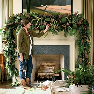 Favorite Things Holiday Mantels Amy HirschAmy Hirsch