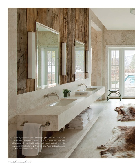 Ski lodge design amy hirschamy hirsch for What is my interior design style