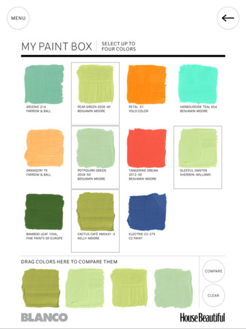 Beautiful Paint Colors Simple House Beautiful's Paint Color App  Amy Hirschamy Hirsch Design Ideas