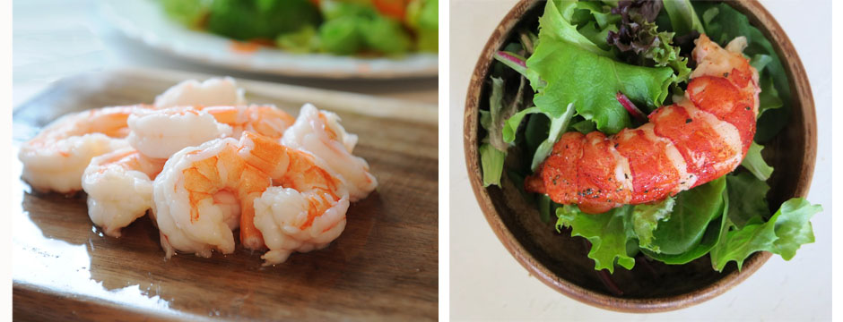 Lobster and Shrimp Salad