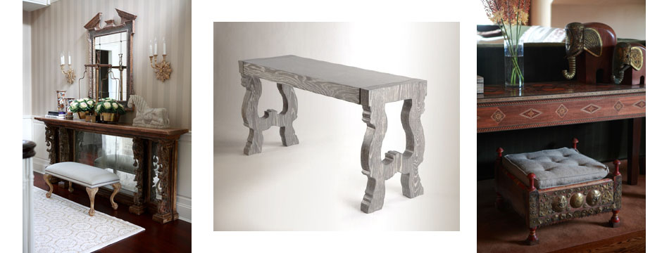 Favorite Things:  Console Tables