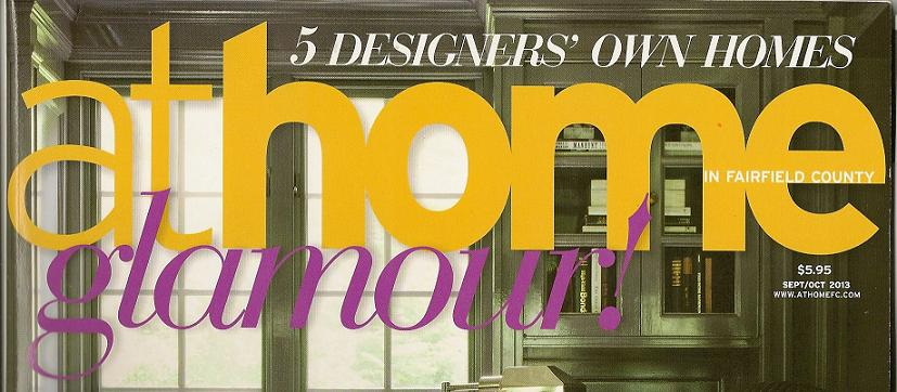 Designers' Houses in At Home Magazine