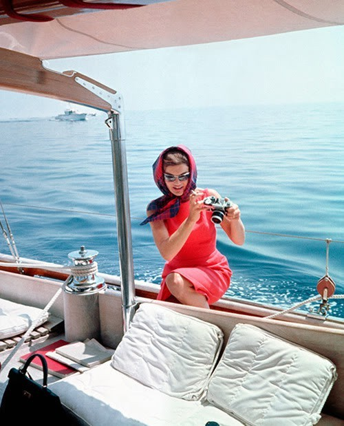 From a retro blog post, Jackie Kennedy.