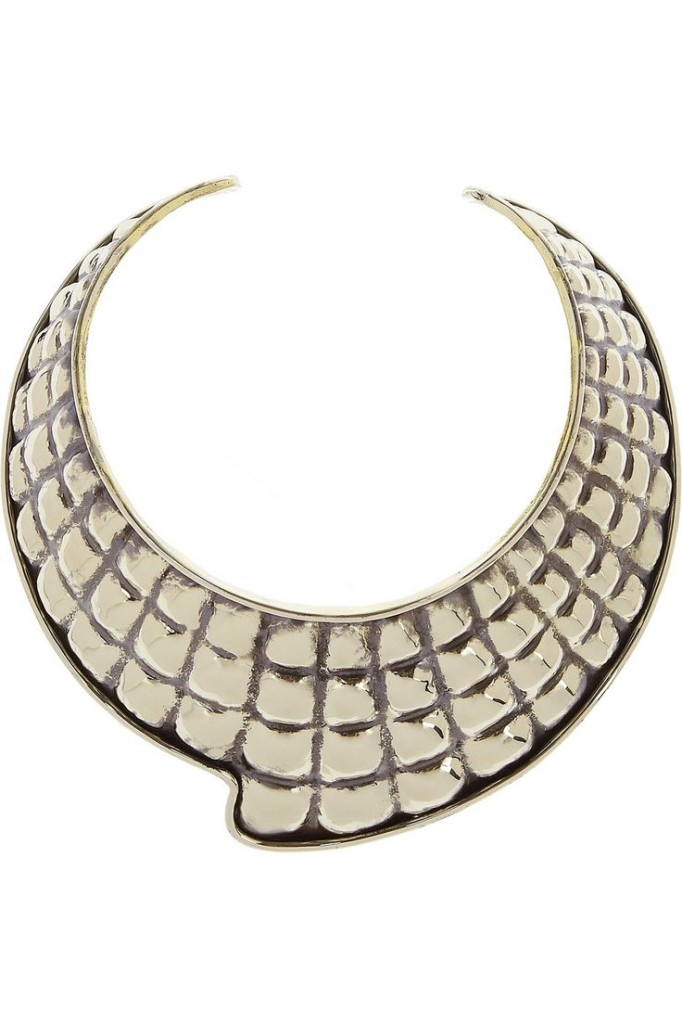 Quilted Fin Choker from Net-A-Porter.