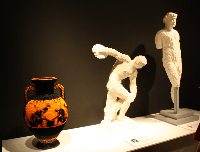 Classic Greek sculpture; I really love the vase.