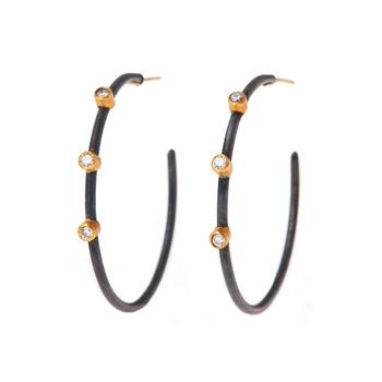 Yassi Harari Hoop Earrings