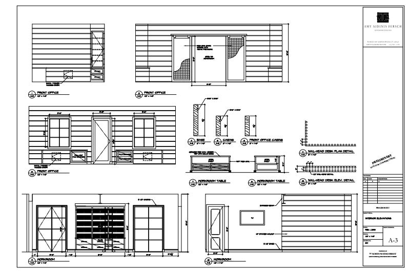 Amy Hirsch Studio Plans 2