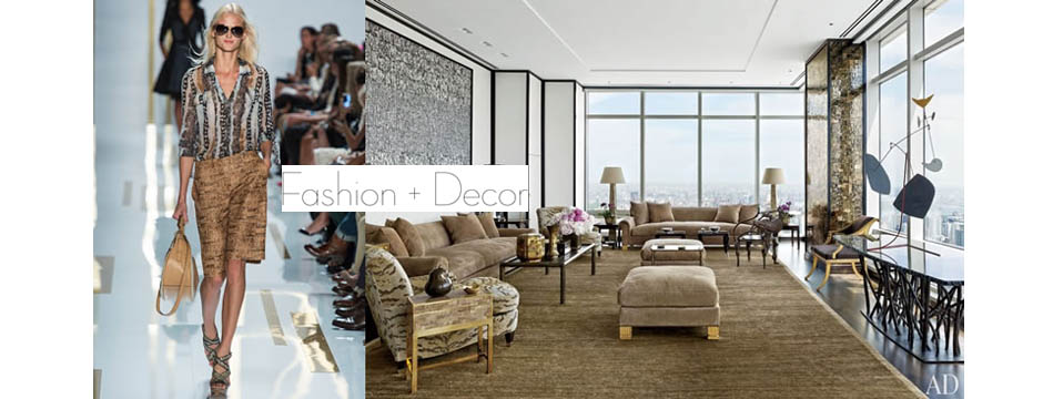 Fashion + Decor