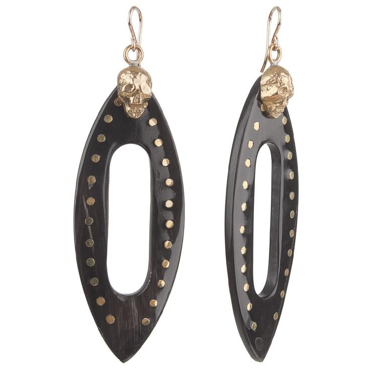 Dark Horn Fuvu Earrings