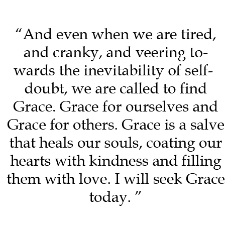From Lindley's writing about grace.