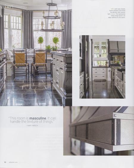 Amy Aidinis Hirsch Interior Design kitchen