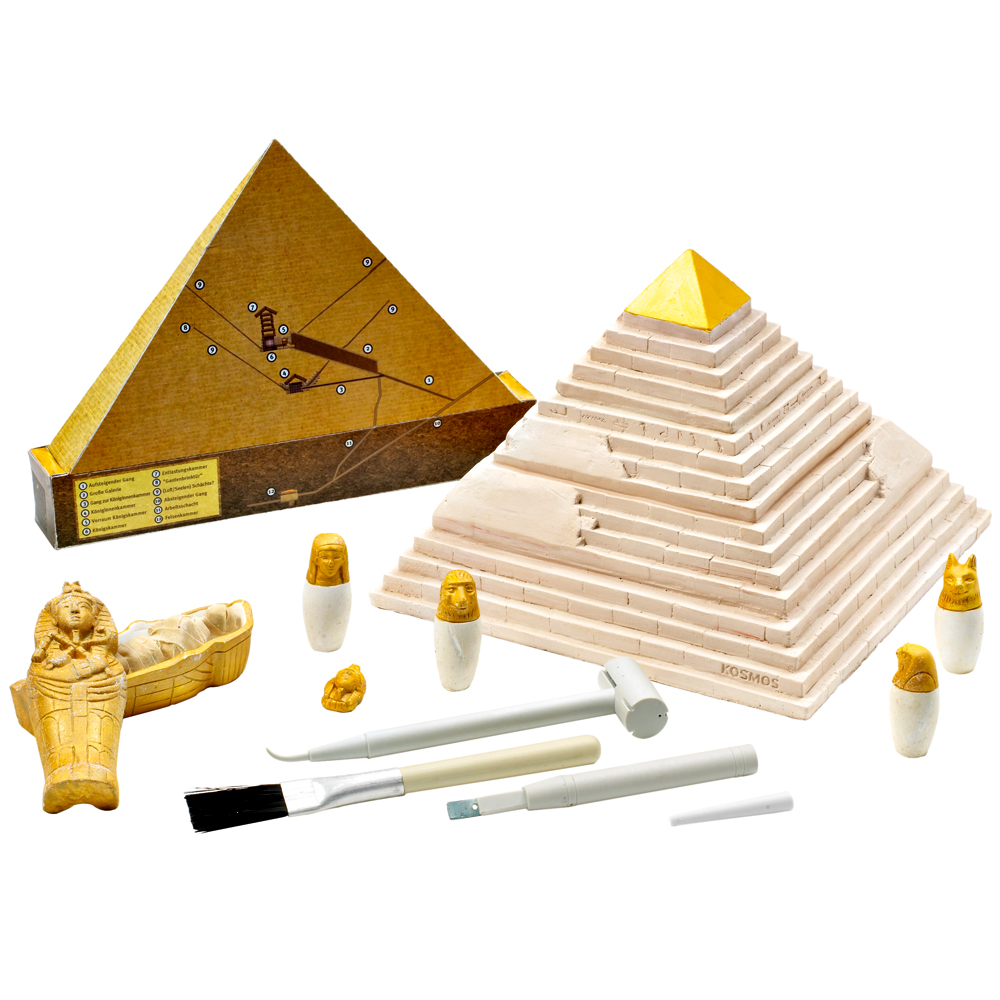 Egyptian Pyramid Archeology:  For hands-on learning.