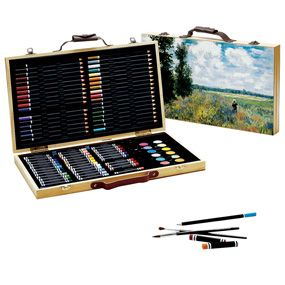 Monet Art Supply Kit, a wonderful way to be creative.