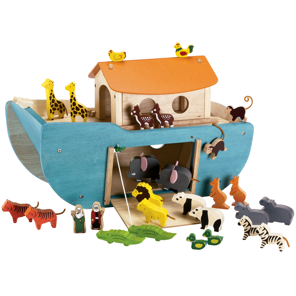 Noah's Ark Play Set:  Imaginative play for younger kids.