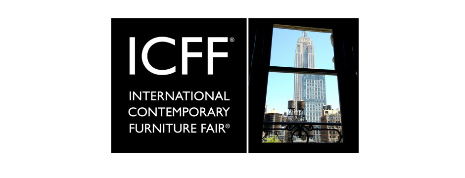 International contemporary furniture fair amy hirschamy for Icff exhibitors 2014