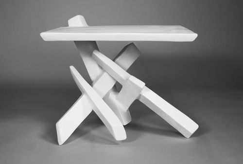 Shard Table:  A piece of sculpture.  I would really love to see a longer version.