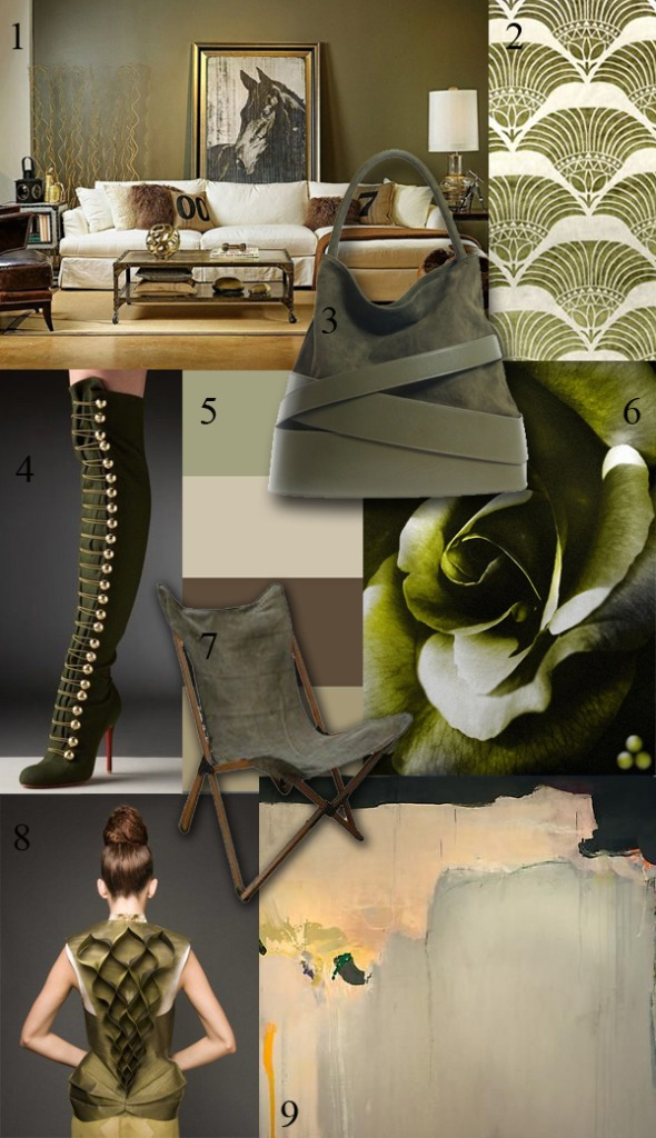 Amy Aidinis Hirsch Color Obsession Olive