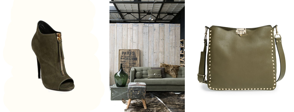 Color Obsession:  Olive