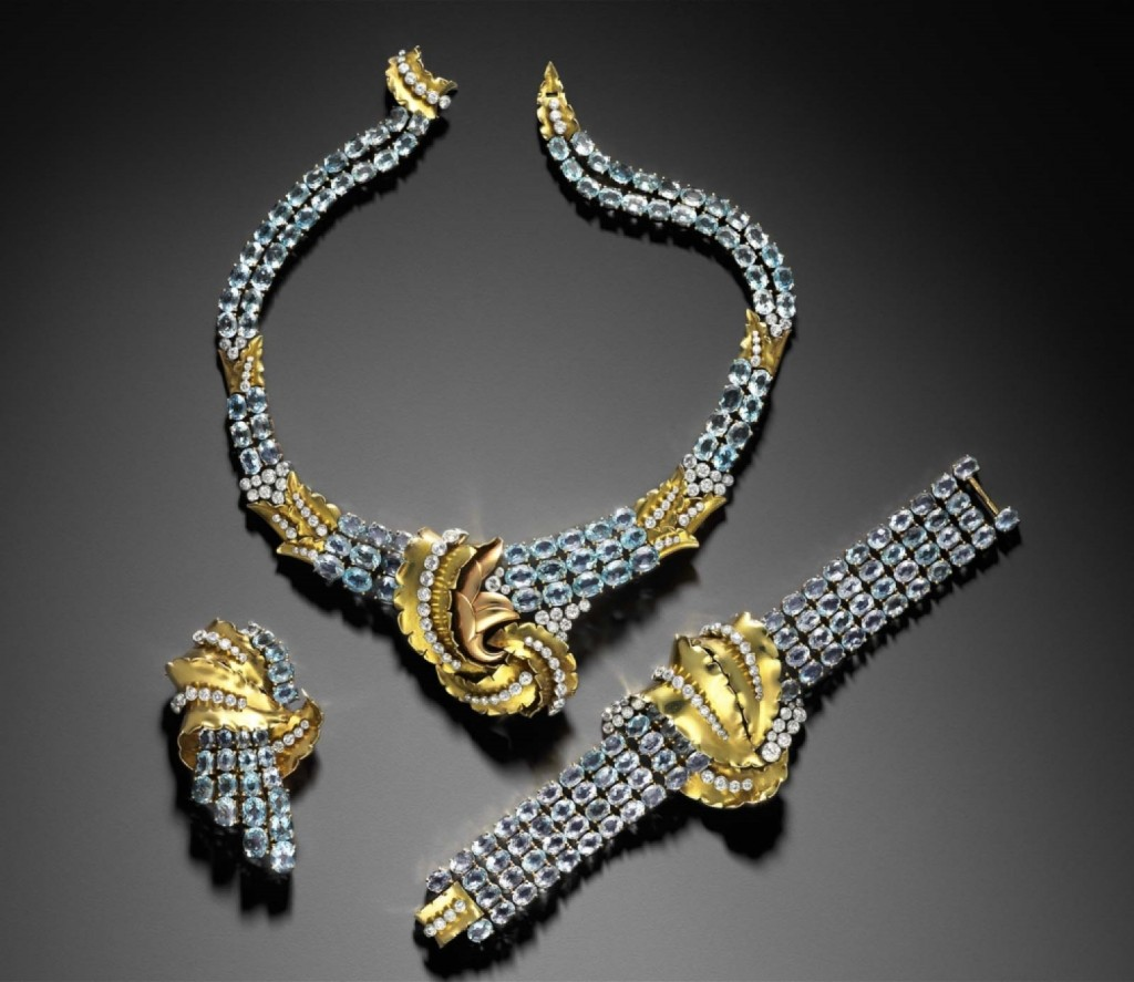 Verger Freres jewels worn by Joan Crawford.