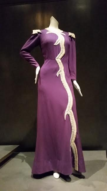 Dress designed for Mae West by Elisa Schiaparelli and worn in the 1938 film Every Day's a Holiday.