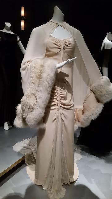 The finished gown worn by Marlene Dietrich in Desire, by Travis Banton.