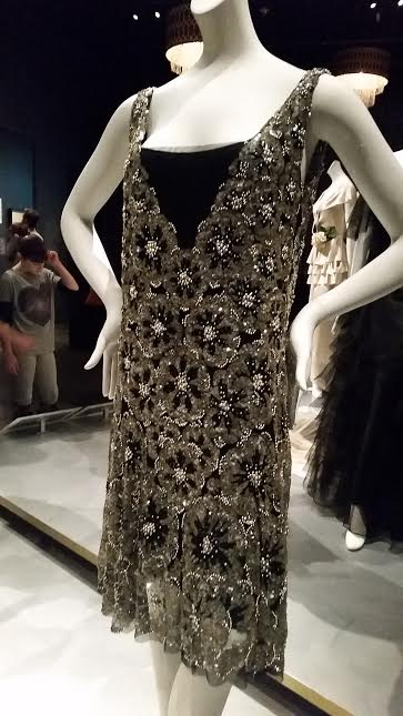 A 1926 Coco Chanel evening dress worn by Ina Claire.