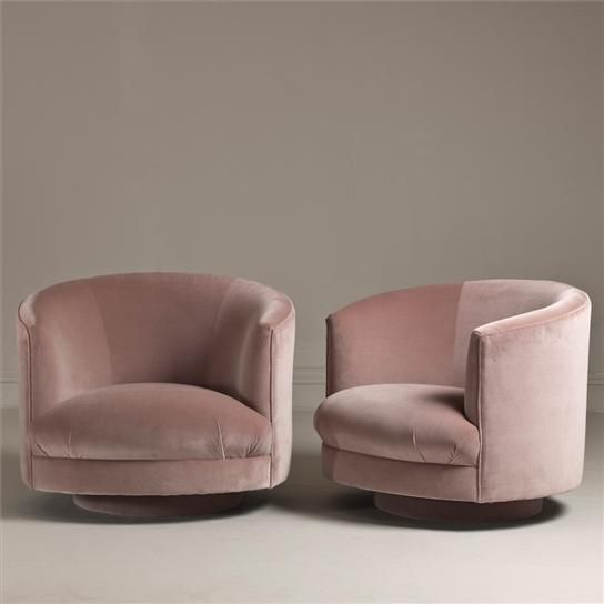 1960s Swivel Tub Chairs