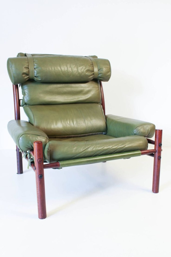 Mid-Century Modern Inca Chair by Arne Norell.
