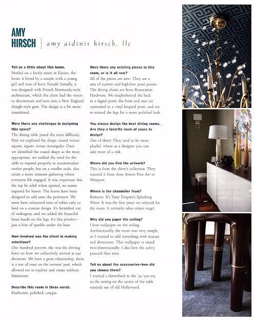 Amy Aidinis Hirsch Greenwich CT Interior Design 2