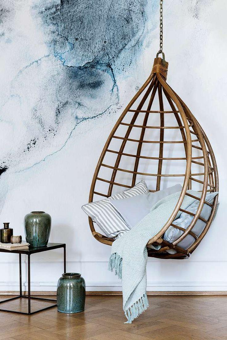 Swing chair by Broste Copenhagen