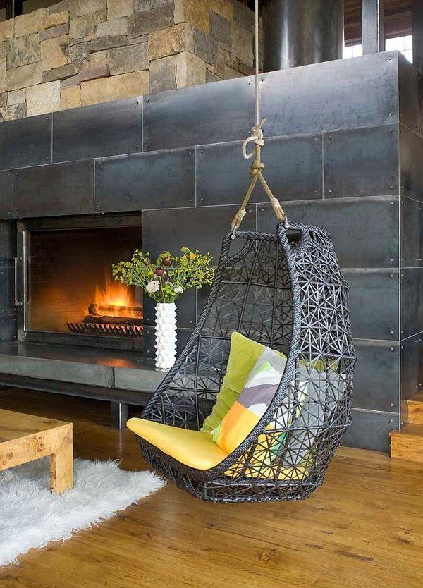 Indoor swing by Studio 80 Interior Design.