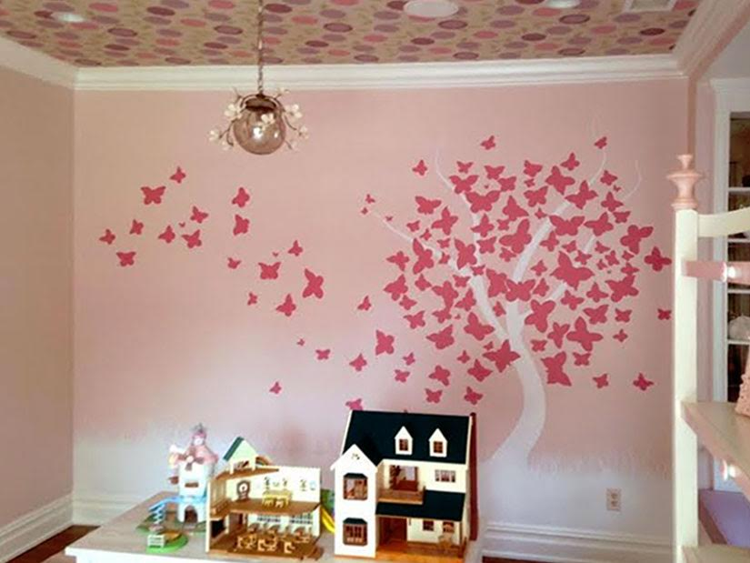 Whimsical playroom design by Amy Aidinis Hirsch Interior Design LLC.