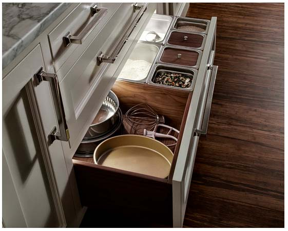 heartwood kitchens baking drawer