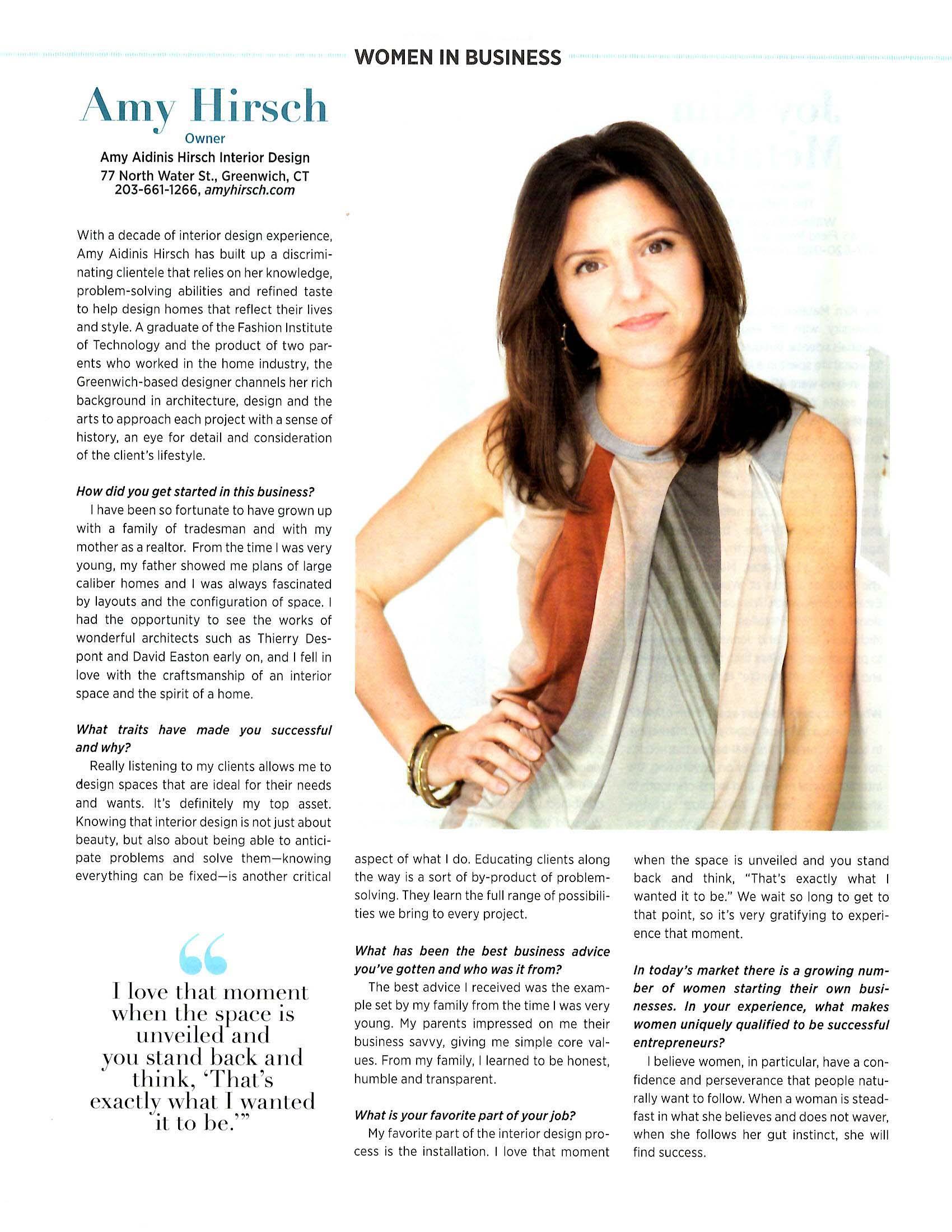 Amy Aidinis Hirsch Serendiity Magazine 2