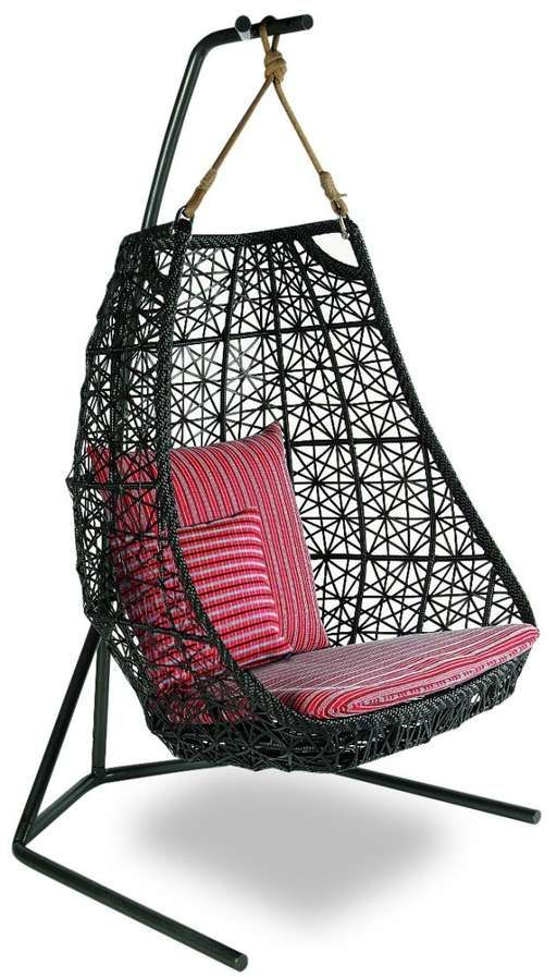 hanging lattice chair Patricia Urquiola