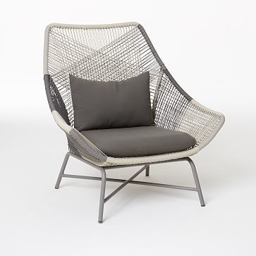 west elm huron lounge chair