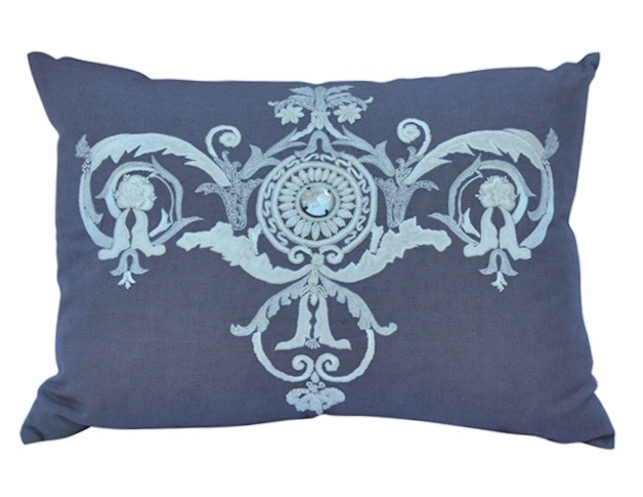 Callisto Home Lavender Linen Pillow