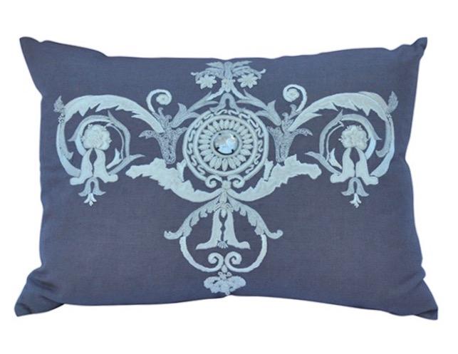 Callisto Home Lavender Linen Pillow
